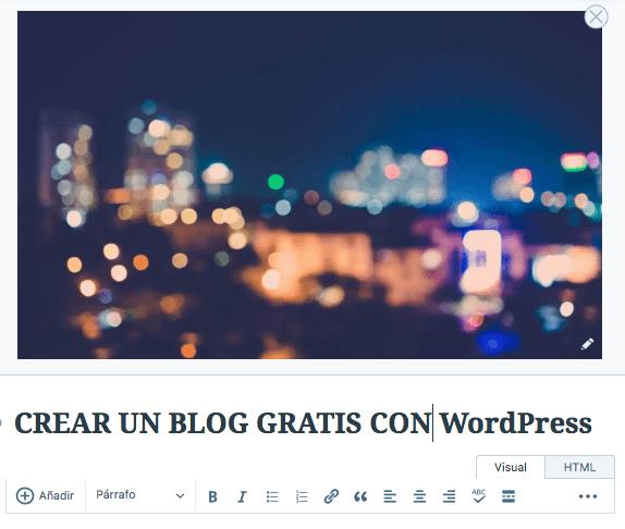 4 pasos para crear un blog gratis