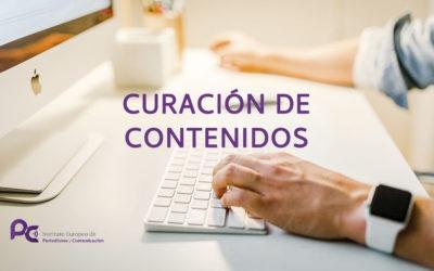 ¿Qué es la curación de contenidos?