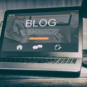creación y redacción de blog