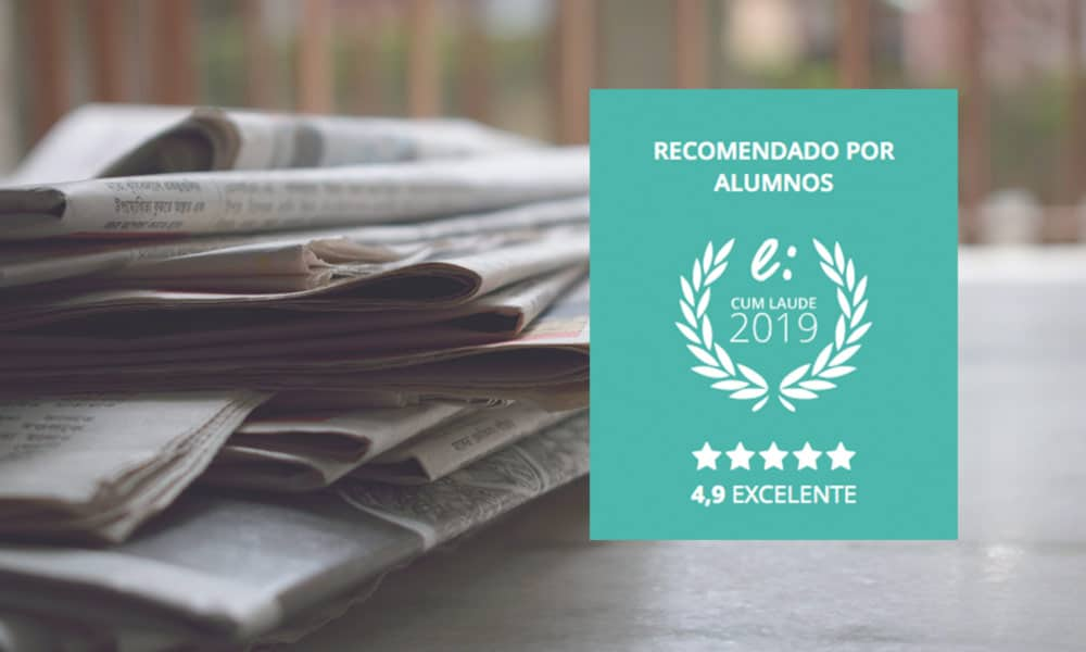 El Instituto Europeo de Periodismo y Comunicación logra el Sello Cum Laude 2019